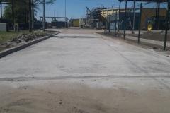 Reczne ukladanie masy bitumicznej oczyszczalnia Redlica Gmina Dobra